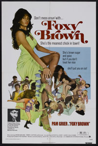 """Foxy Brown (AIP, 1974). One Sheet (27"""" X 41""""). Action. Starring Pam Grier, Peter Brown, Terry Carter, Kathryn..."""