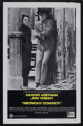 "Movie Posters:Academy Award Winner, Midnight Cowboy (United Artists, 1969). One Sheet (27"" X 41"").Drama. Starring Dustin Hoffman, Jon Voight, Brenda Vaccaro, J..."