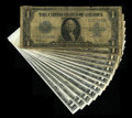 Fr. 237, Fr. 238 $1 1923 Silver Certificates. This was a set that Bill used as a grading guide. It runs from Good to G...