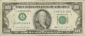 Error Notes:Inking Errors, Fr. 2173-A $100 1990 Federal Reserve Note. Fine. This Boston C-note has a green Federal Reserve District Seal and numbers. I...