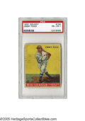 Baseball Cards:Singles (1930-1939), 1933 Goudey Jimmy Foxx #154 PSA PR-FR 1. Great eye appeal on this Hall of Famer's card from one of the hobby's most popular ...