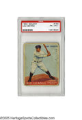 Baseball Cards:Singles (1930-1939), 1933 Goudey Lou Gehrig #160 PSA PR-FR 1. One of the top cards from this Big Three set. Eye appeal is strong despite wear. ...