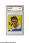 """Baseball Cards:Singles (1930-1939), 1934 Goudey Lou Gehrig #37 PSA VG 3. This Depression-era classic of the """"Iron Horse"""" has strong eye appeal with rich color...."""