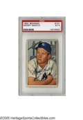 Baseball Cards:Singles (1950-1959), 1952 Bowman Mickey Mantle #101 PSA EX 5. Second year Mantle Bowmancard has strong color and a flawless surface....
