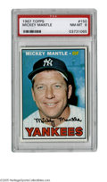 Baseball Cards:Singles (1960-1969), 1967 Topps Mickey Mantle #150 PSA NM-MT 8. Fantastic gloss, nice centering, clean verso. A high-grade Mantle! ...