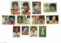 Autographs:Sports Cards, Miscellaneous Deceased Players Signed Baseball Cards Lot of 12.Collection of twelve baseball autographs on various Topps an...