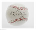 Autographs:Baseballs, Ben Chapman Single Signed Baseball. OAL (Brown) baseball offers10/10 black ink sweet spot signature from the former New Yor...