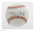 Autographs:Baseballs, Willie Mays Single Signed Baseball. ONL (White) baseball offers10/10 blue ink sweet spot signature from the Giants slugging...