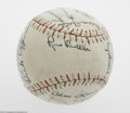 Autographs:Baseballs, 1935 St.Louis Browns Team Signed Baseball. Twenty-four signatureson a Professional League baseball which include Rogers Hor...