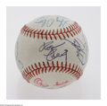 Autographs:Baseballs, 1990 All-Star Game Signed Baseball. Official 1990 Wrigley FieldAll-Star Game baseball signed by the National League All-Sta...