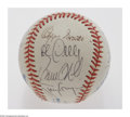 Autographs:Baseballs, 1991 & 1992 All-Star Game Signed Baseballs. Two officialAll-Star Game signed baseballs from 1991 and 1992. 1991 signatures...