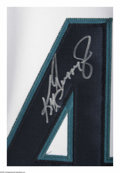 Autographs:Jerseys, Ken Griffey Jr. Signed UDA Jersey. Perfect replica of Griffey'sSeattle Mariners jersey is signed in 10/10 silver sharpie. ...