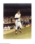 "Autographs:Photos, Billy Martin Signed Photograph. Quality 8x10"" color image of NewYork Yankee Billy Martin signed in clear blue sharpie. LO..."