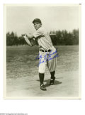 Autographs:Photos, Joe Sewell Signed Photograph. Classic 8x10 black and white image ofNew York Yankee Hall of Famer Joe Sewell signed in perfe...
