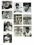 """Autographs:Photos, Various Baseball Player Signed Photographs Lot of 10. Collection often 8x10"""" signed photographs of various deceased players..."""