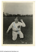 "Autographs:Photos, Casey Stengel Signed Photograph from the Casey Stengel Collection.Great 10/10 blue ink signed 5"" x 7"" photo of Casey Stenge..."