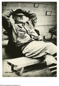 Autographs:Photos, Casey Stengel Signed Photograph from the Casey Stengel Collection.Classic Casey Stengel 10/10 black sharpie signed photo in...