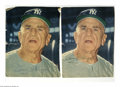 Autographs:Photos, Casey Stengel Signed Magazine Photos from the Casey Stengel Collection Lot of 2. October 1959 magazine photos signed in 10/1...