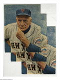 Autographs:Others, Casey Stengel Signed Magazine Photos from the Casey StengelCollection Lot of 3. Three Casey Stengel 10/10 black sharpie sig...