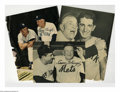 Autographs:Others, Casey Stengel & Billy Martin Signed Magazine Photos from theCasey Stengel Collection Lot of 3. Collection of three Casey St...