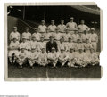 Baseball Collectibles:Photos, 1920's New York Giants Team Photo from the Casey Stengel Collection. Brilliant International Newsreel photo of the New York ...