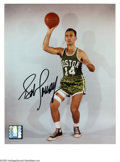 Autographs:Photos, Bob Cousy Signed Photograph. Classic black sharpie autographed 8x10color photo of the Boston Celtics great. LOA from PSA/...