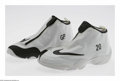 "Basketball Collectibles:Uniforms, Gary Payton Game Used Shoes. Nike shoes specially designed for Gary""The Glove"" Payton while a member of the Los Angeles Lak..."