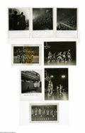 Basketball Cards:Lots, Early Harlem Globetrotters Original Photographs Lot of 8.Impressive collection of eight early World tour HarlemGlobetrotte...