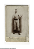 Boxing Collectibles:Memorabilia, Billy Woods Studio Photo. Classic vintage studio posed photograph of boxer Billy Woods. Photo is in good condition with worn...