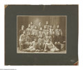 Football Collectibles:Photos, 1902 Football Team Photo. Vintage 17x14 cabinet photo of a 1902 college football team. Photo is in good condition with a not...