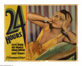 "Movie Posters:Drama, 24 Hours (Paramount, 1931). Lobby Cards (2) (11"" X 14""). Offeredhere are two original lobby cards for this drama starring C... (2Items)"