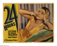 """24 Hours (Paramount, 1931). Lobby Cards (2) (11"""" X 14""""). Offered here are two original lobby cards for this dr..."""