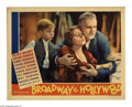 "Movie Posters:Musical, Broadway to Hollywood (MGM, 1933). Lobby Cards (3) (11"" X 14""). This film follows a vaudeville family through thirty years o... (3)"