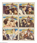 """Movie Posters:Adventure, Headline Shooter (RKO, 1933). Lobby Cards (6) (11"""" X 14""""). Offeredhere are six original lobby cards for this adventure star... (6Items)"""