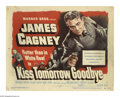 """Movie Posters:Crime, Kiss Tomorrow Goodbye (Warner Brothers, 1950). Title Card and LobbyCards (3) (11"""" X 14""""). Offered here is an original title... (4Items)"""