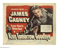 """Kiss Tomorrow Goodbye (Warner Brothers, 1950). Title Card and Lobby Cards (3) (11"""" X 14""""). Offered here is an..."""