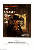 """Movie Posters:Western, Pat Garrett and Billy the Kid (MGM, 1973). One Sheet (27"""" X 41""""). Sam Peckinpah's revisionist look at the relationship betwe..."""