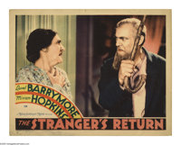 """The Stranger's Return (MGM, 1933). Lobby Card (11"""" X 14""""). Offered here is an original lobby card for this dra..."""
