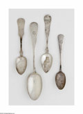Other:American, A Collection of American Silver Spoons. Mark of Gorham, Providence,RI; and various other makers, c.1870. The group compri... (24Items)