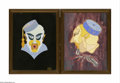 Illustration:Books, Two Framed Illustrations Herman Foster, Twentieth Century Thereproductions of illustrations depicting characters for 'F... (2Items)