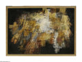 Fine Art - Painting, American:Modern  (1900 1949)  , Unknown Artist Abstract Composition (Double sided) Oil on canvas32.5 x 46in. Unsigned...