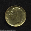 Albania: , Albania: King Zog I gold 20 Franga Ari 1927R, KM10, brilliant UNC, lightly cleaned....