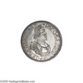 German States:Augsburg, German States: Augsburg. Ferd. III Taler 1642, Bust right/Cityview, KM77, Dav-5039, Choice AU and very near Mint State....