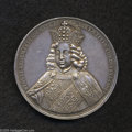 German States:Augsburg, German States: Augsburg. Joseph I silver medal 1690, on thecoronation of Joseph I as King of Rome, Facing half-length figureof Joseph I/J...