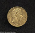 German States:Bavaria, German States: Bavaria. Ludwig II gold 10 Mark 1872D, KM500, XFwith the usual light abrasions for a coin of this condition andsome remain...