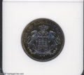 German States:Hamburg, German States: Hamburg. 2 Mark 1912J, KM294, Proof 67 NGC. Spectacular Bluish-gold toning with virtually flawless surfaces. One of the scar...