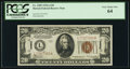 Small Size:World War II Emergency Notes, Fr. 2305 $20 1934A Hawaii Federal Reserve Note. PCGS Very ChoiceNew 64.. ...