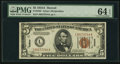 Small Size:World War II Emergency Notes, Fr. 2302 $5 1934A Hawaii Federal Reserve Note. PMG ChoiceUncirculated 64 EPQ.. ...