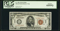 Small Size:World War II Emergency Notes, Fr. 2301 $5 1934 Mule Hawaii Federal Reserve Note. PCGS Gem New65PPQ.. ...