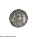 Italy:Papal States, Italy: Papal States. Urban VIII AR Piastra 1643, Rome mint,Berman-1713, KM183, Dav-4060, VF/XF with minor obverse flanflaws....